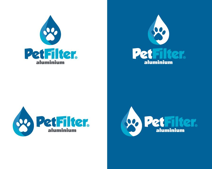 Marca PetFilter - Versões positivas e negativas